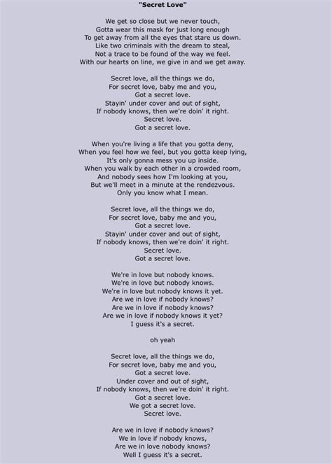 lyrics to secret by we three lyrics to secret by we three 28 images secrets