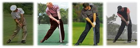golf swing bowed left wrist the characteristics of the model swing precision