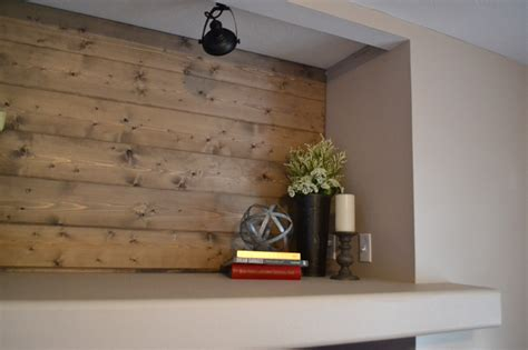 Accent Wall With Shiplap Diy Shiplap Accent Wall Midwest Diy