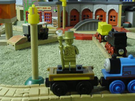 Mug Custom The Tank Engine and mr gold pic 1 by eli j brony on deviantart