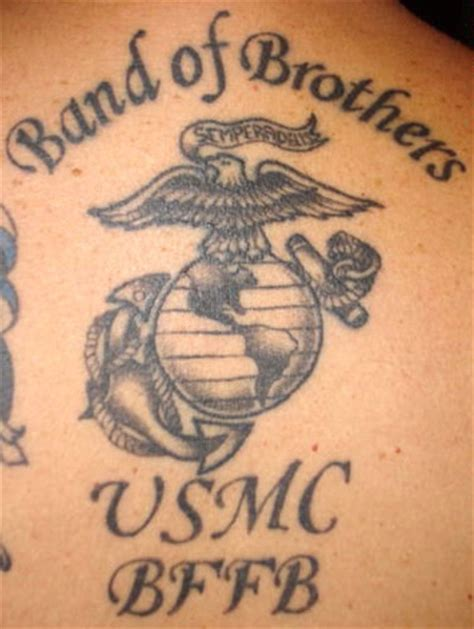 marine tattoos usmc 2011