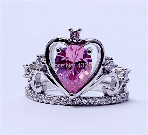 aliexpress buy 925 sterling silver cz princess