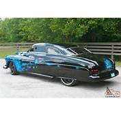 Mercury Coupe  Chopped Top Lead Sled Shaved Dropped Custom Paint 50