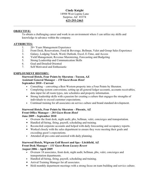 Sle Of Valet Parking Resume Resume