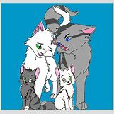 Warrior Cats Jayfeather And Halfmoon Kits | 527 x 497 jpeg 53kB