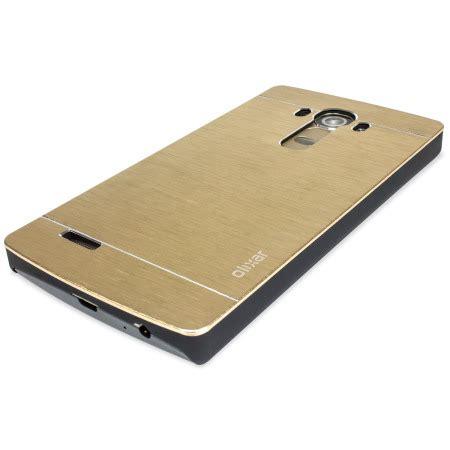 Aluminium Bumpermirror Back Cover Lg G4 Gold olixar aluminium lg g4 shell gold reviews