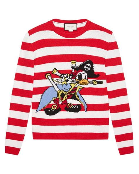 Sweater Anak Donal Duck Bungsu Clothing 3 gucci daffy duck intarsia knit jumper in for lyst