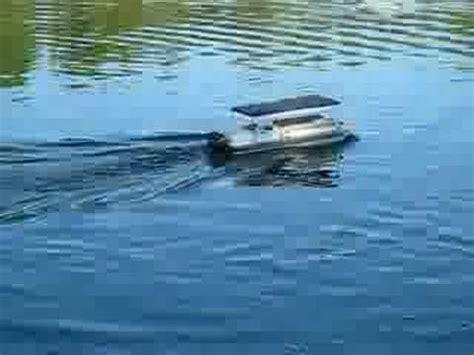 custom remote control boats custom rc pontoon boat youtube