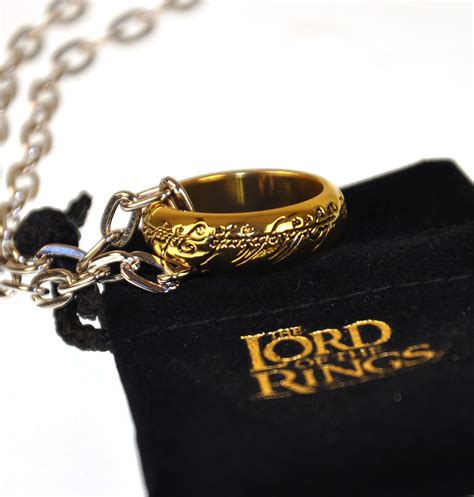 Elvish Home Decor the one ring lord of the rings replica by noble