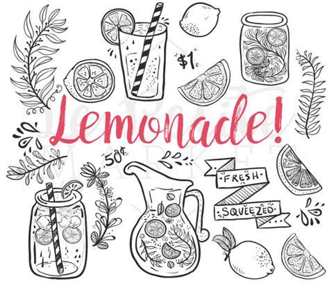 doodle jar doodle lemonade summer clip jar clipart