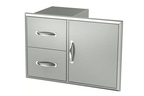 outdoor kitchen stainless doors and drawers broilchef stainless steel drawers stainless steel double