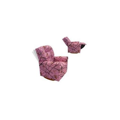 Pink Camo Recliner by Camo Baby Stuff