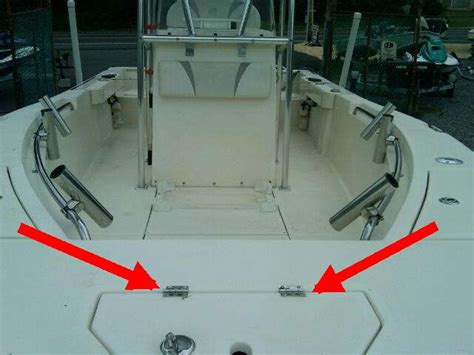 boat anchor hatch freedom anchor hatch hinge the hull truth boating and
