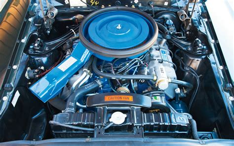 429 Ford Engine by 1969 Ford Mustang 429 Engine Photo 25