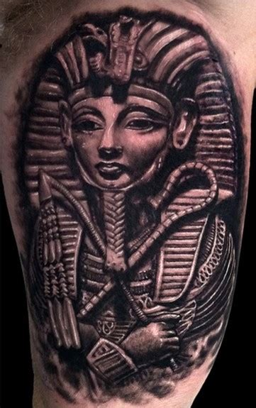 king tut tattoo king tutankhamun tattoos