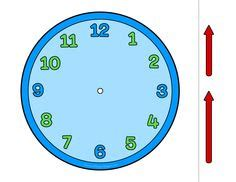 printable clock manipulative this printable clock manipulative is easy to create and