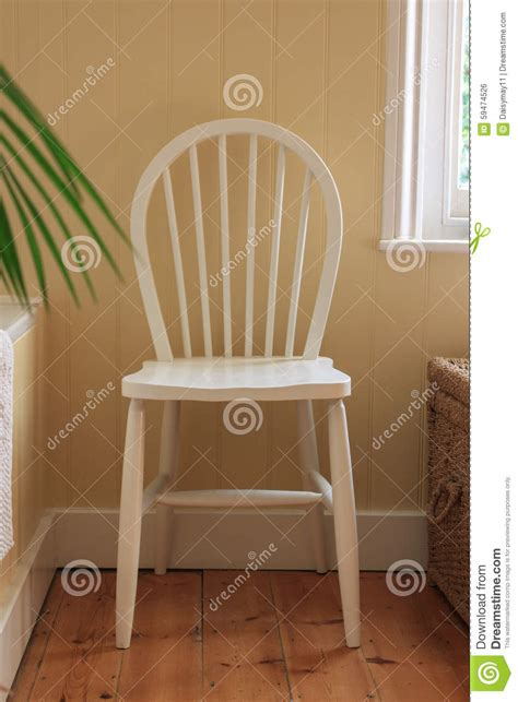 chairs in bathrooms white wooden bathroom chair stock photo image 59474526