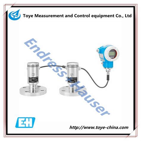 endress hauser differential pressure transmitter endress hauser deltabar fmd72 electronic differential