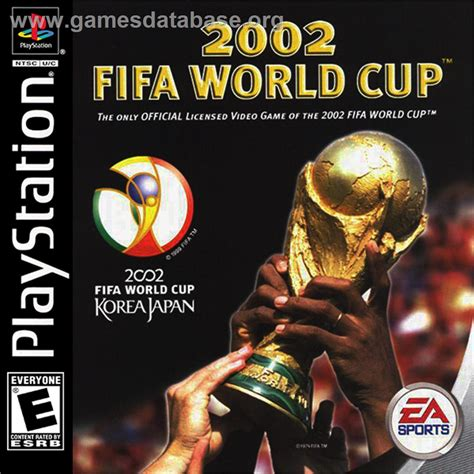 N Bunny Cup No Box 2002 fifa world cup sony playstation database