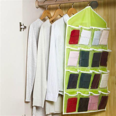 Closet Wall Organizer by Creative 16 Pockets Hanging Wall Mounted Closet Storage