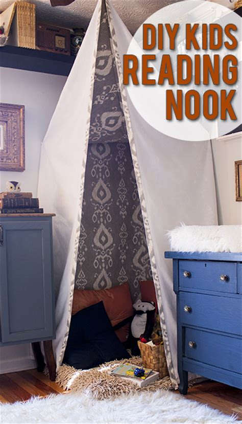 Diy Bedroom Nook Anselm S Reading Nook View Along The Way