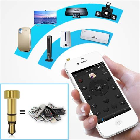 Baru Mehone Smartphone Smart Remote 3 5mm For Set Top Box 1 Mehone Smartphone Ir Remot Kontrol 3 5mm Silver