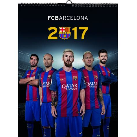 Calendario Barca Calendario Oficial Fcb 2017