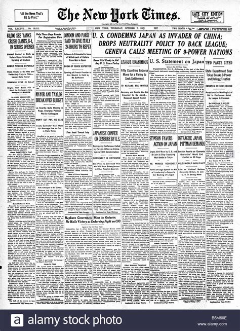 japan news japan facts latest news the new york times japan invades china 1937 headline from the new york times