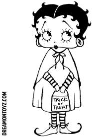 betty boop coloring pages betty boop pictures archive betty boop coloring