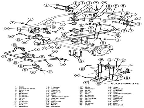 ford f250 front suspension diagram ford f350 front suspension diagram go search for