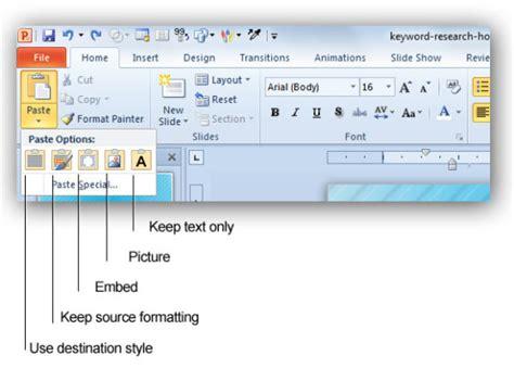 Plantilla De Curriculum Para Copiar Y Pegar 187 Opciones De Copiar Y Pegar En Powerpoint 2010