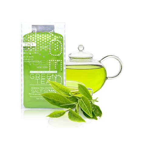 Detox Tea New York by Voesh Pedi In A Box Basic 3 Step Green Tea Detox