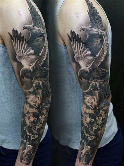 angel tattoo designs for men sleeves 70 unique sleeve tattoos for aesthetic ink design