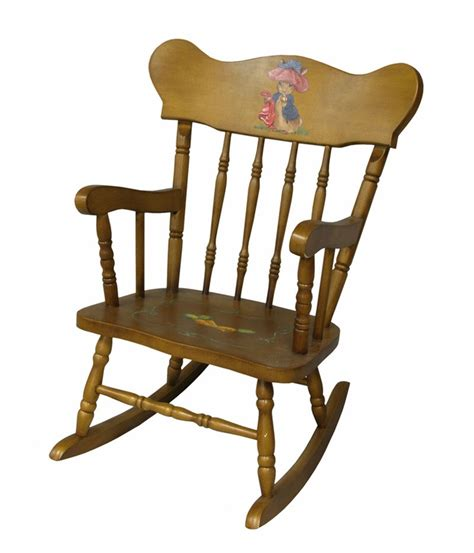 S Rocking Chair by Child S Rocking Chair With Classic Enchanted Forest Motif