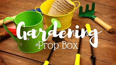 boxes for preschoolers gardening prop box ideas for pre schoolers bring the