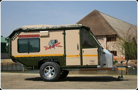 offroad travel trailers commander the original off road caravan ultimate bug out