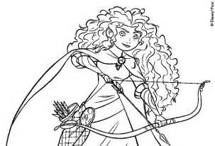 coloring books brave merida princess print