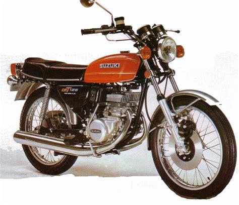 Suzuki Tech Info Suzuki Gt 125 Technical Data Of Motorcycle Motorcycle