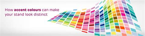 how can i make my a service how accent colours can make your stand design look distinct expo display service