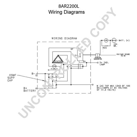 8ar2200l by leece neville high output alternator