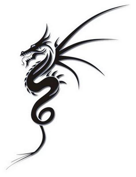 easy tattoos to draw tattoospedia tribal drago simple tattoo design http tattooeve com