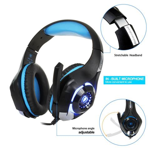 Headset Gaming Led beexcellent gaming headset headphone headband led for ps4 xbox one ios pc new ebay