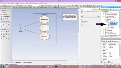 membuat use case atm tutorial cara bikin uml use case diagram sequence