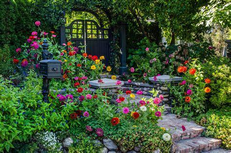 color garden bridges landscaping