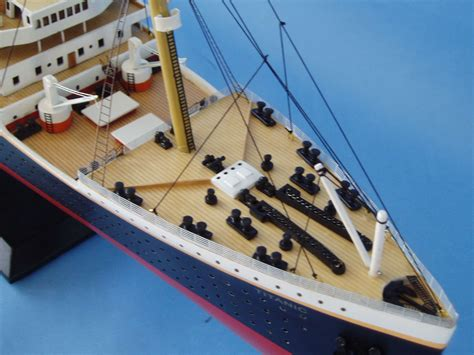 Titanic Sinking Model by Rms Titanic Model Limited Edition 40 Quot Assembled