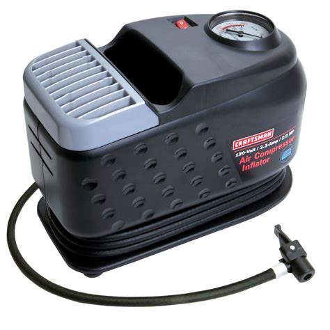 craftsman 120 volt air compressor inflator