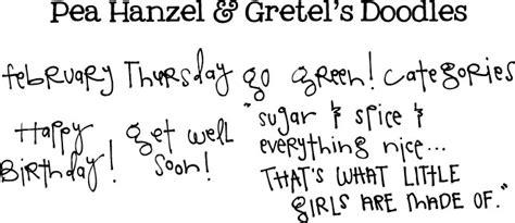 free doodle handwriting fonts doodles
