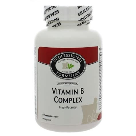 Vitamin B Complex Merk Wellness Professional Complementary Health Formulas Methylation