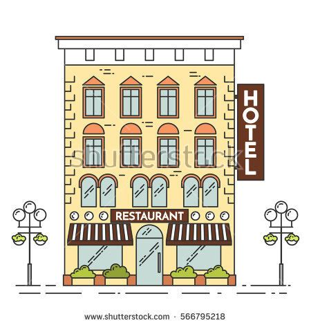 hotel clipart city clipart hotel building pencil and in color city