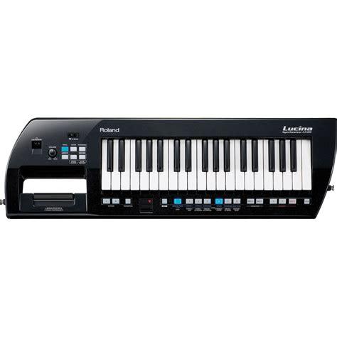 Keyboard Roland Ax Synth roland lucina ax 09 synthesizer keyboard black sparkle ax 09b